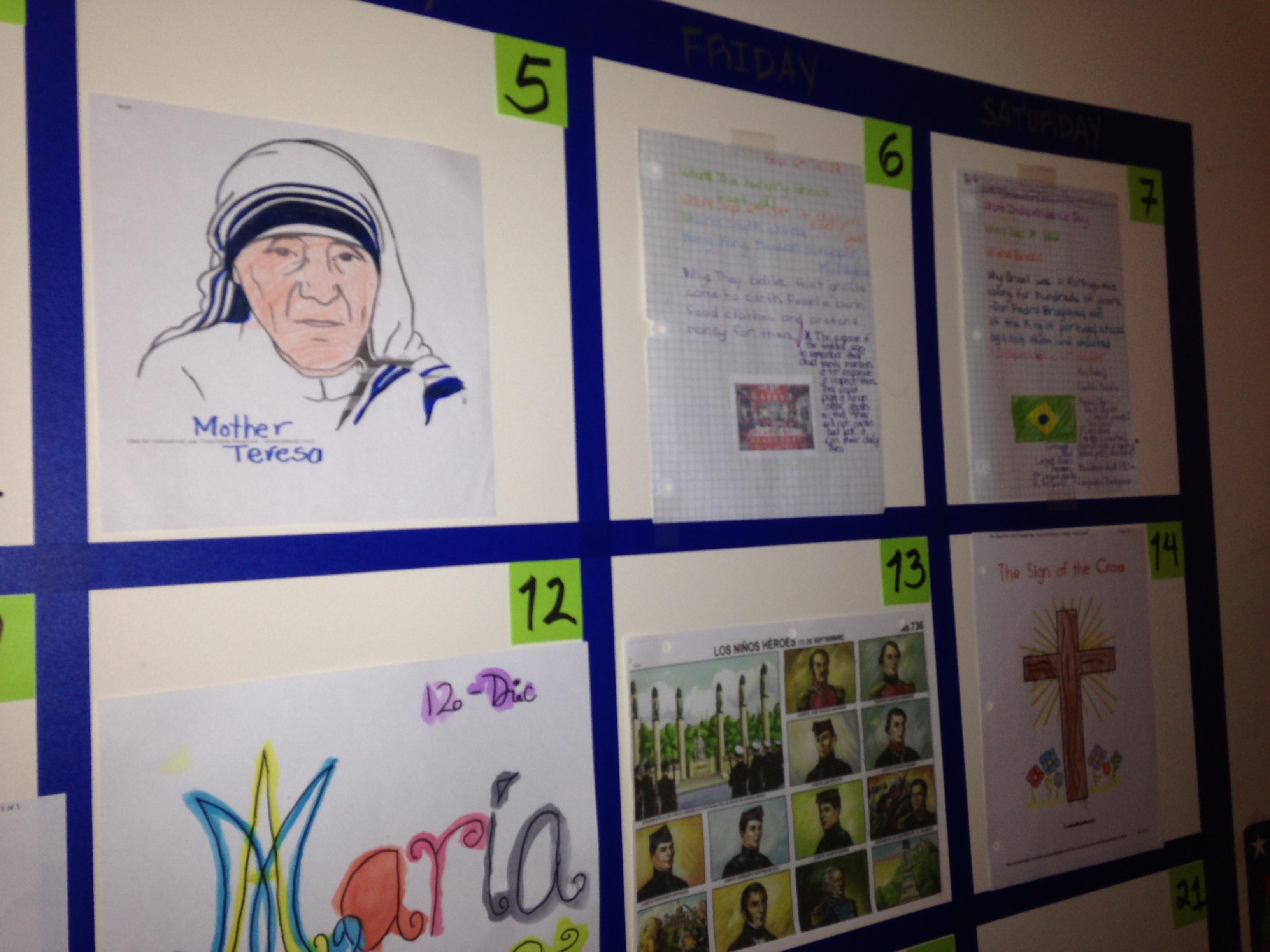 páginas para colorear | Familia Católica Homeschooler